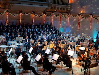 Brad with Boston Pops and James Taylor